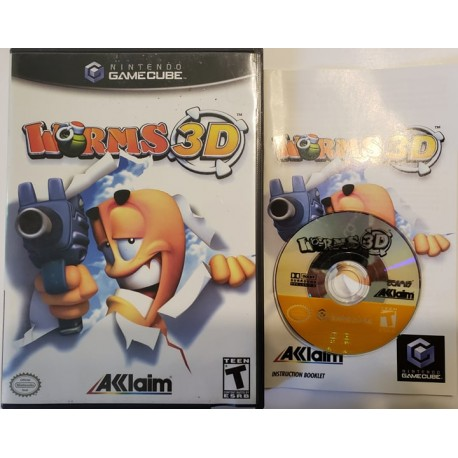 Worms 3D (Nintendo GameCube, 2004)