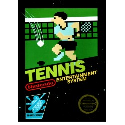 Tennis (Nintendo NES, 1985)