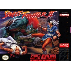 Street Fighter 2 The World Warrior (Super Nintendo, 1992)