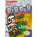 Dig Dug 2 Trouble in Paradise (Nintendo NES, 1989)
