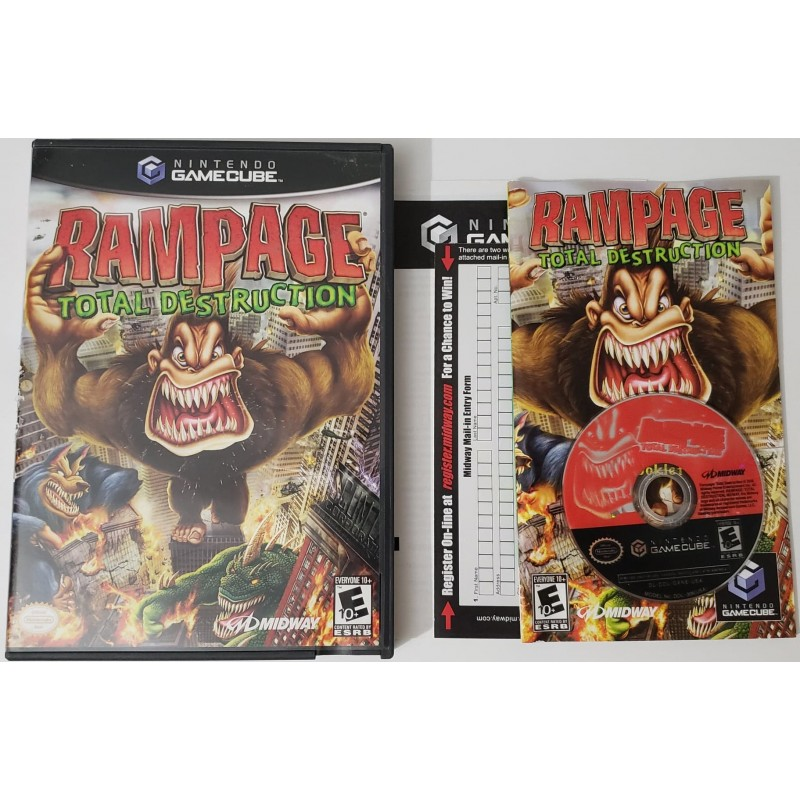 Rampage Total Destruction Nintendo Gamecube