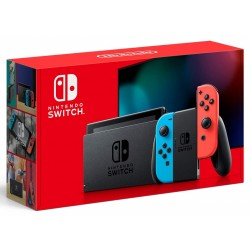 Nintendo Switch with Red and Blue Joy-Con Version 2