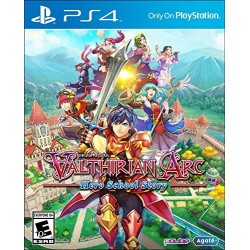 Valthirian Arc Hero School Story (Sony PlayStation 4, 2017)