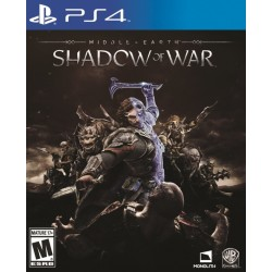 Middle Earth Shadow of War (Sony PlayStation 4, 2017)