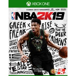 NBA 2K19 (Microsoft Xbox One, 2018)