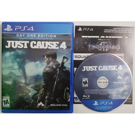 Just Cause 4 (Sony PlayStation 4, 2018)