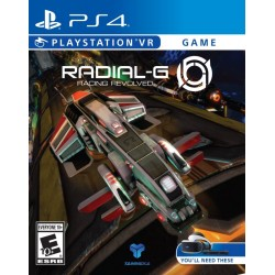 Radial G Racing Revolved (Sony PlayStation 4, 2017)