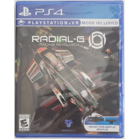 Radial G Racing Revolved (Sony PlayStation 4, 2017)