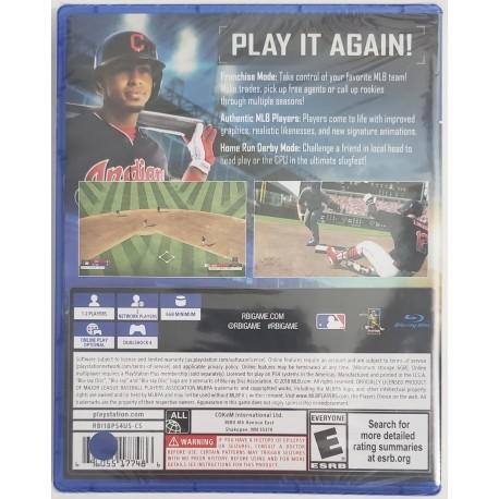 RBI Baseball 18 (Sony PlayStation 4, 2018)