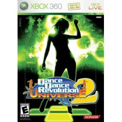 Dance Dance Revolution Universe 2 (Microsoft Xbox 360, 2007)