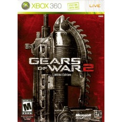 Gears of War 2 Limited Edition (Microsoft Xbox 360, 2010)