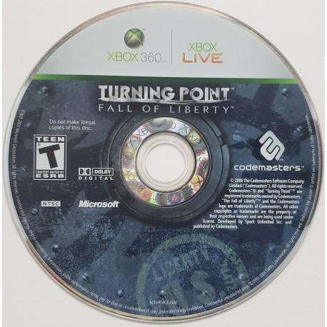 Turning Point Fall of Liberty (Microsoft Xbox 360, 2008)