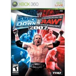 WWE SmackDown vs Raw 2007 (Microsoft Xbox 360, 2006)