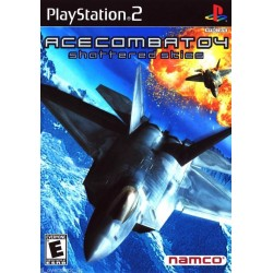 Ace Combat 04: Shattered Skies (Playstation 2 PS2, 2002)