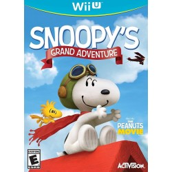 Snoopys Grand Adventure (Nintendo Wii U, 2015)