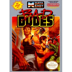 Bad Dudes (Nintendo NES, 1990)
