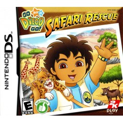 Go Diego Go Safari Rescue (Nintendo DS, 2011)