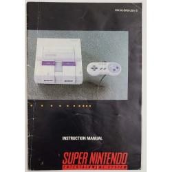 Super Nintendo Console Manual (HW(A)-SNS-USA-2)