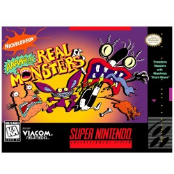 AaaHH Real Monsters (Nintendo SNES, 1995)