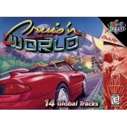 Cruisn World (Nintendo 64, 1998)