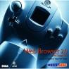 Sega Dreamcast Web Browser 2.0 with SegaNet (Sega Dreamcast 2000)