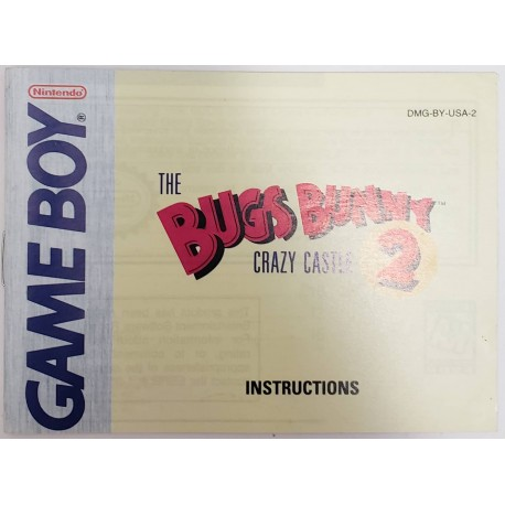 Bugs Bunny Crazy Castle (Nintendo Game Boy, 1990)