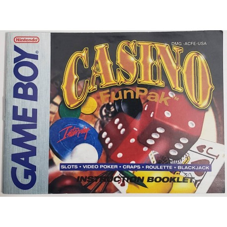Casino Fun Pak (Nintendo Game Boy, 1992)