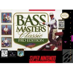 BASS Masters Classic Pro Edition (Super Nintendo, 1996)