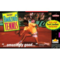 David Cranes Amazing Tennis (Super Nintendo, 1992)
