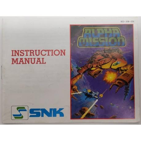 Alpha Mission (Nintendo NES, 1988)