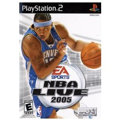 NBA Live 2005 (Sony PlayStation 2, 2004)