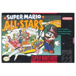 Super Mario All-Stars (Nintendo SNES, 1993)