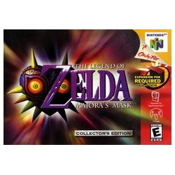 Legend of Zelda Majoras Mask (Nintendo 64, 2000)