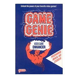 NINTENDO NES GAME GENIE Book