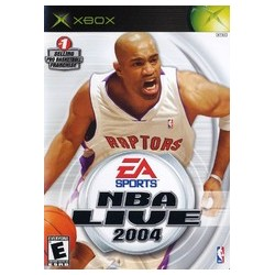 NBA Live 2004 (Microsoft Xbox, 2003)