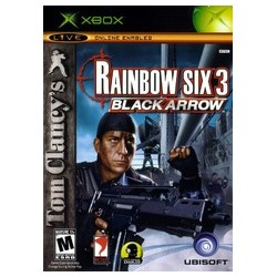Tom Clancy's Rainbow Six 3 Black Arrow (Xbox, 2003)