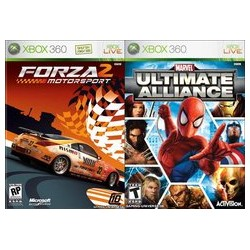 Marvel Ultimate Alliance & Forza 2 (Microsoft Xbox 360, 2007)