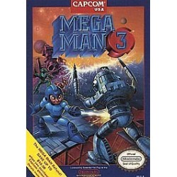 Mega Man 3 (Nintendo, 1990)