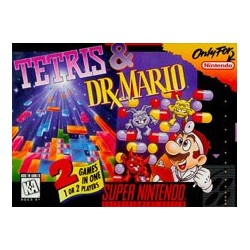 Tetris & Dr. Mario (Super NES, 1994)