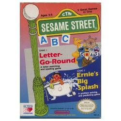 Sesame Street ABC (Nintendo NES, 1989)