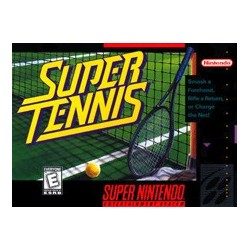Super Tennis (Super NES, 1991)