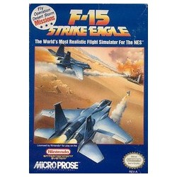 F-15 Strike Eagle (Nintendo NES, 1992)