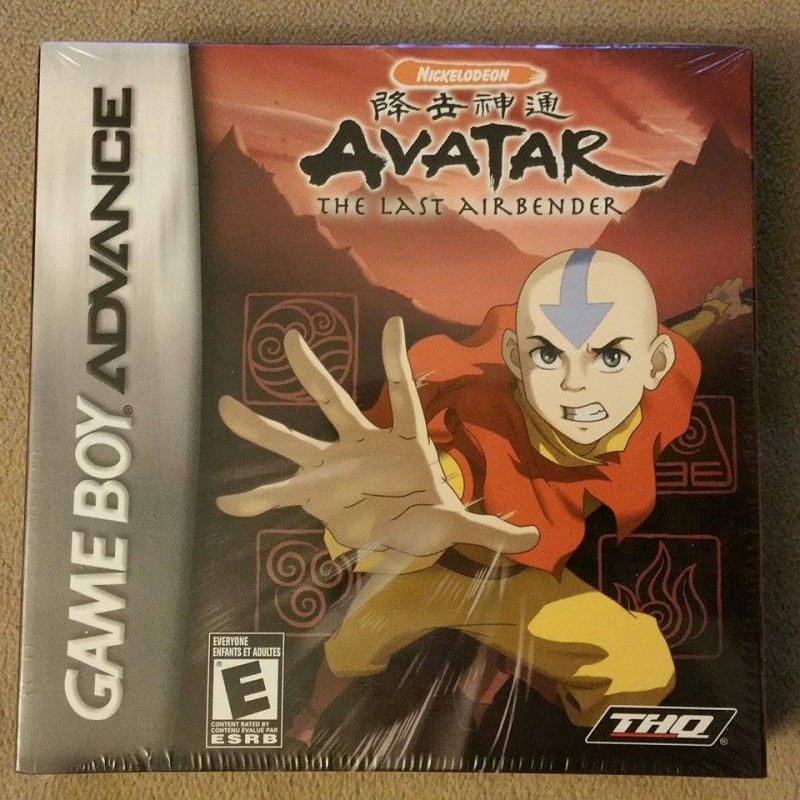 Avatar Games: Avatar: The Last Airbender (Nintendo Game Boy Advance