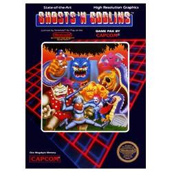 Ghosts 'n Goblins (Nintendo NES, 1986)