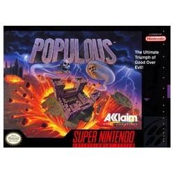 Populous (Super Nintendo SNES, 1991)