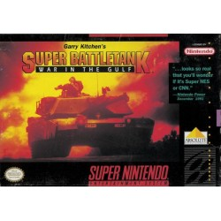 Super Battletank: War in the Gulf (Super NES, 1992)