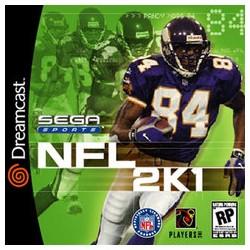 NFL 2K1 (Sega Dreamcast, 2000)