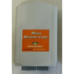 3rd party 4X Dreamcast memory card