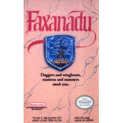 Faxanadu (Nintendo NES, 1989)