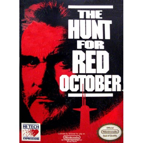 hunt for red october The hunt for the red october was first written by a famous spy-genre novelist, tom clancy in 1984 in 1990, the book was turned into a film starring sean connery.